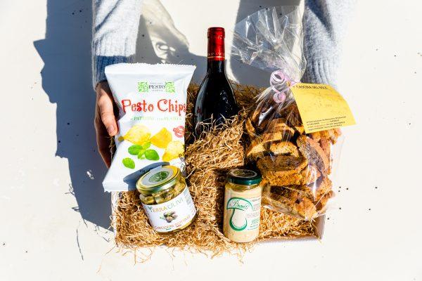 prodotti alimentari tipici liguria box l'aperitivo del ponente